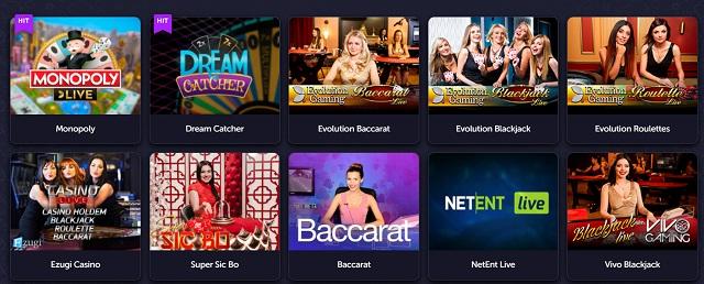 как играть в Live казино с живым онлайн дилером