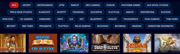 Видеослоты казино провайдеры