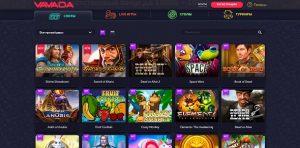 игровые слоты играть на деньги в Vavada casino